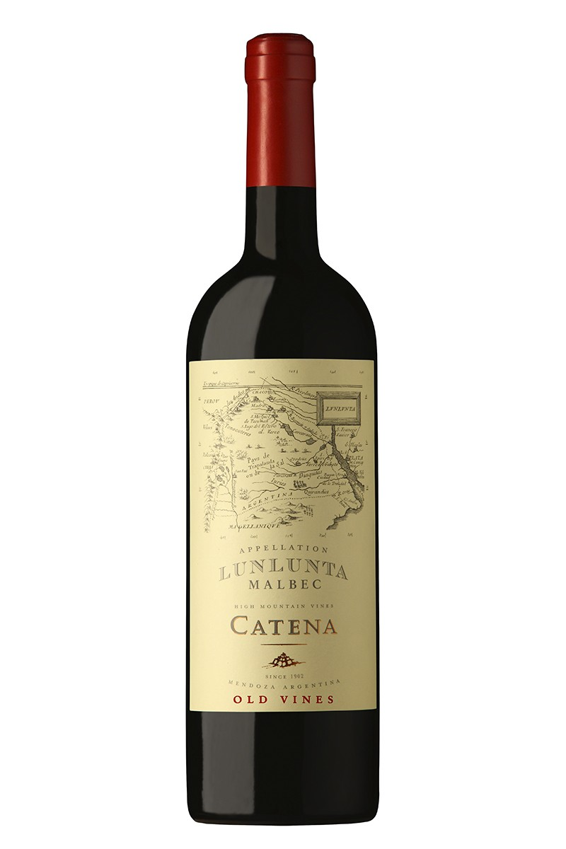 Vino CATENA APPELLATION LUNLUNTA Malbec 750ml. Vino CATENA APPELLATION LUNLUNTA Malbec 750ml.